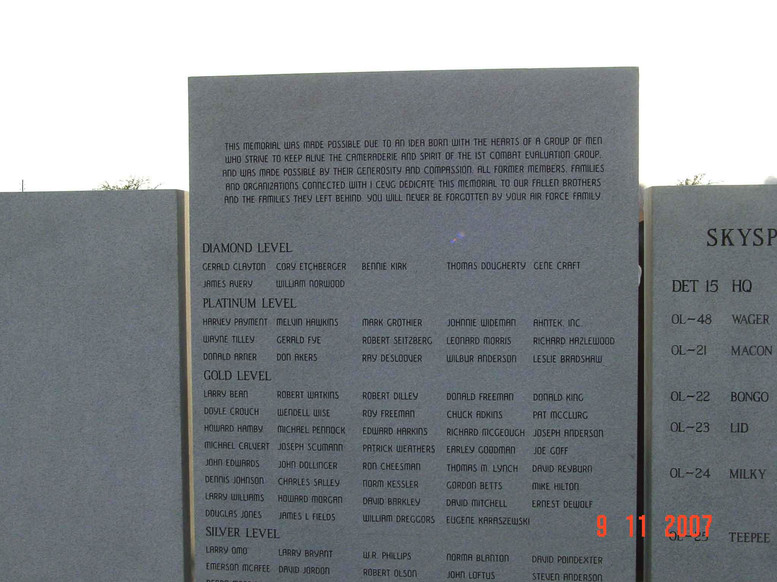 Back-side of Monument csnter