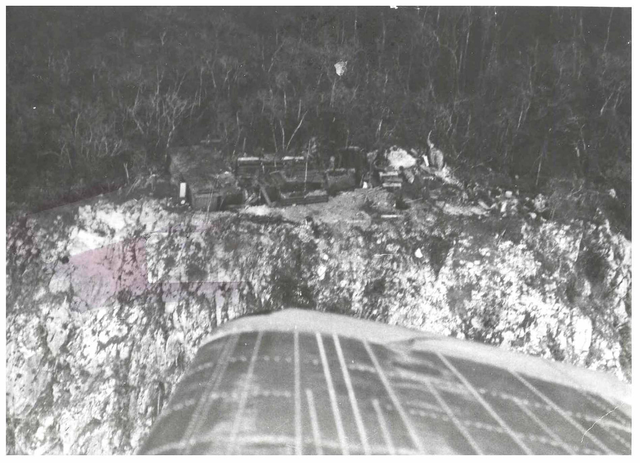 If you look closely, photo interpreters have placed small circles on some of the photos. The information inside these circles could be interpreted as KIA's or survivors.    Photos courtesy of Larry Clum unless otherwise noted