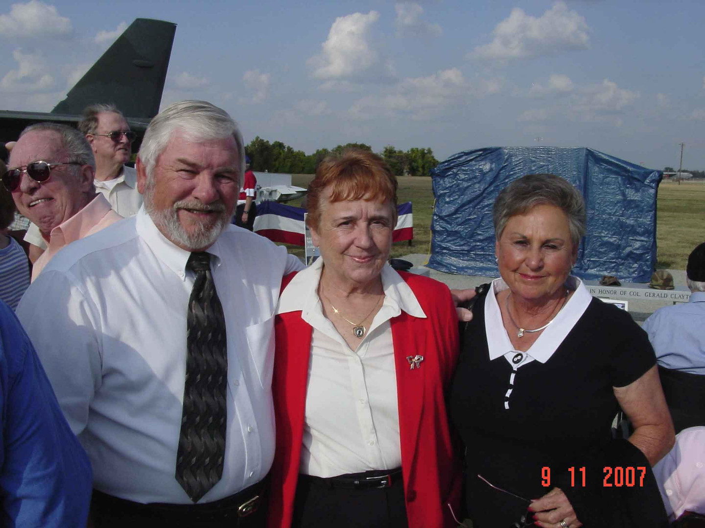 Donnell Hill, Ann Holland and Edna Hill