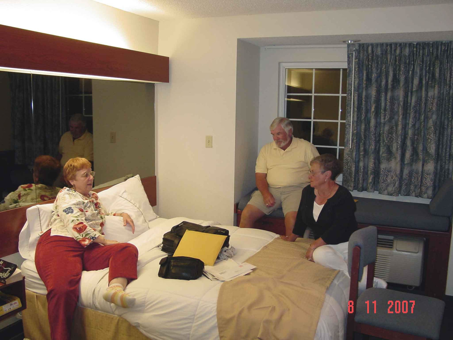 Ann Holland, Donnell and Edna Hill