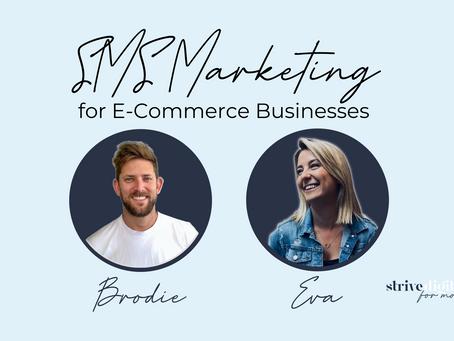 SMS Marketing for E-Commerce Businesses