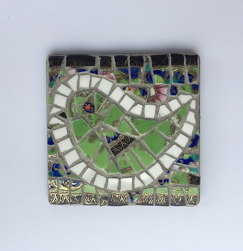 Mosaic Bird (square)
