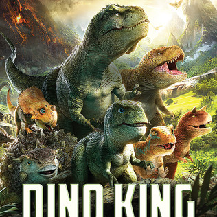 Dino King; Journey to Fire Mountain Is Monstrous Fun for the Family