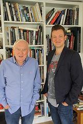Oliver & director Peter Macdonald.jpg