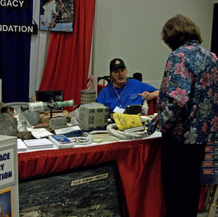 James M. Busby at SpaceFest Table Talkin