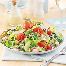 salade-de-crevettes-nordiques-saumon-fum