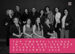 TechLatino Latinas of Excellence awa
