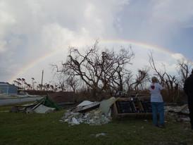 Destrucción Dorian del huracán