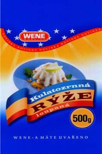 Rýže kulatozrná 500g WENE