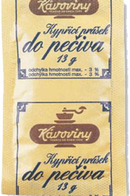 Kypřící prášek do pečiva 13g KAVOVINY a.s.