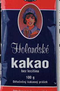 Holandské kakao sáček 100g KAVOVINY a.s.