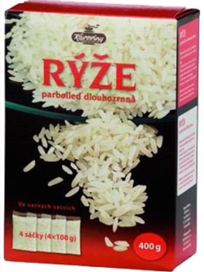 Rýže parboled varné sáčky 400g Kávoviny a.s.