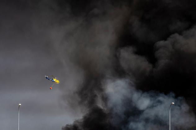Incendio Chiloeches