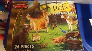 Puzzle chiens et chats