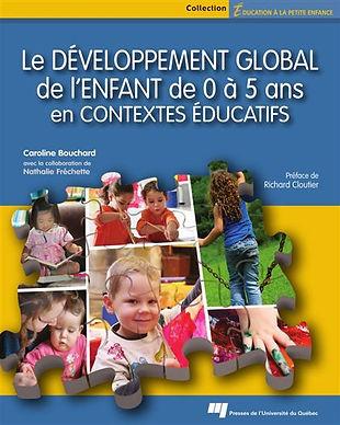 Le développement global de l'enfant en contextes éducatifs