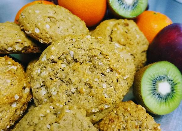 Biscuits aux bananes et beurre de soya