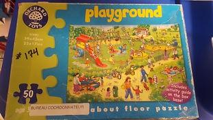 Puzzle jardin d'enfants