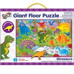 Casse-tête géant dinosaures