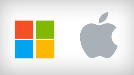 מלחמת הענקים: Microsoft's Surface VS Apple's Mac