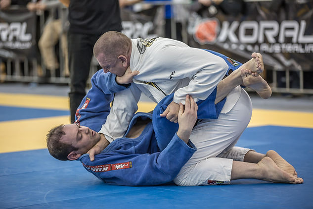 Bayside BJJ in competition