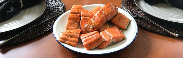 wild Alaskan Copper River sockeye salmon