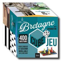BRETAGNE CUBE Voici un jeu réunissant 400 questions sur la culture bretonne, qui vous permettra de (re)découvrir votre région tout en vous amusant.  13,90 €