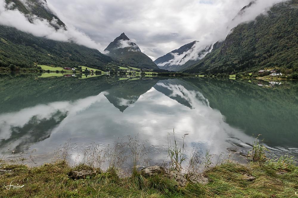 Reflections en bord de route