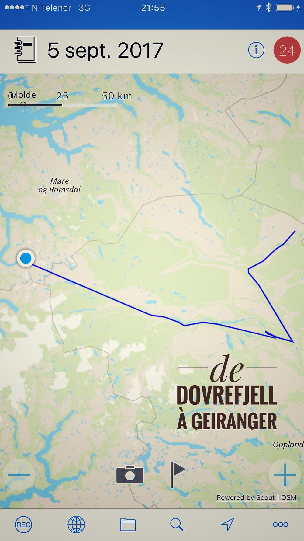 De Dovrefjell à Geiranger