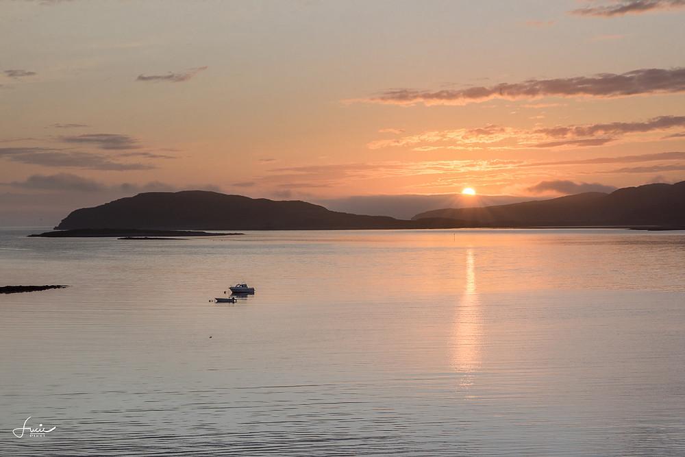 Coucher du soleil à Lillefjord