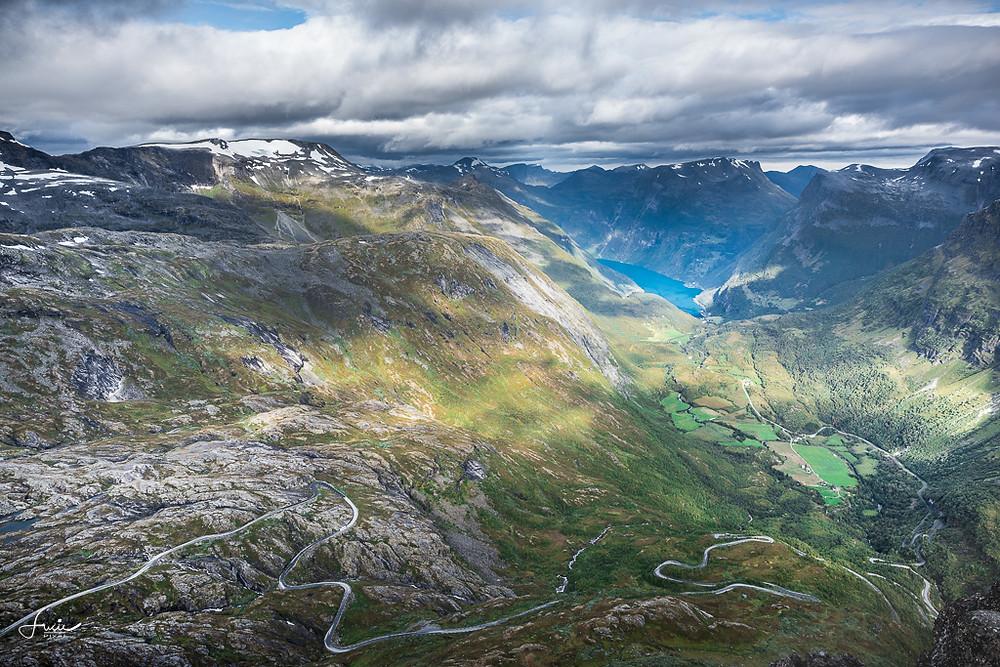 Vue sur le fjord de Geiranger