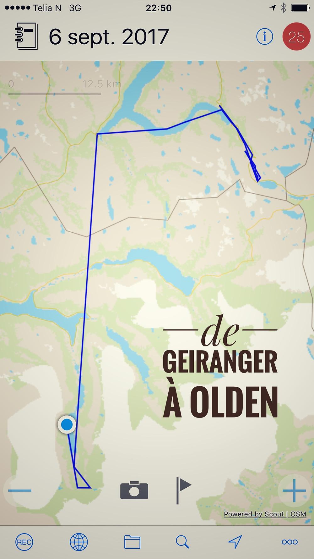De Geiranger à Olden