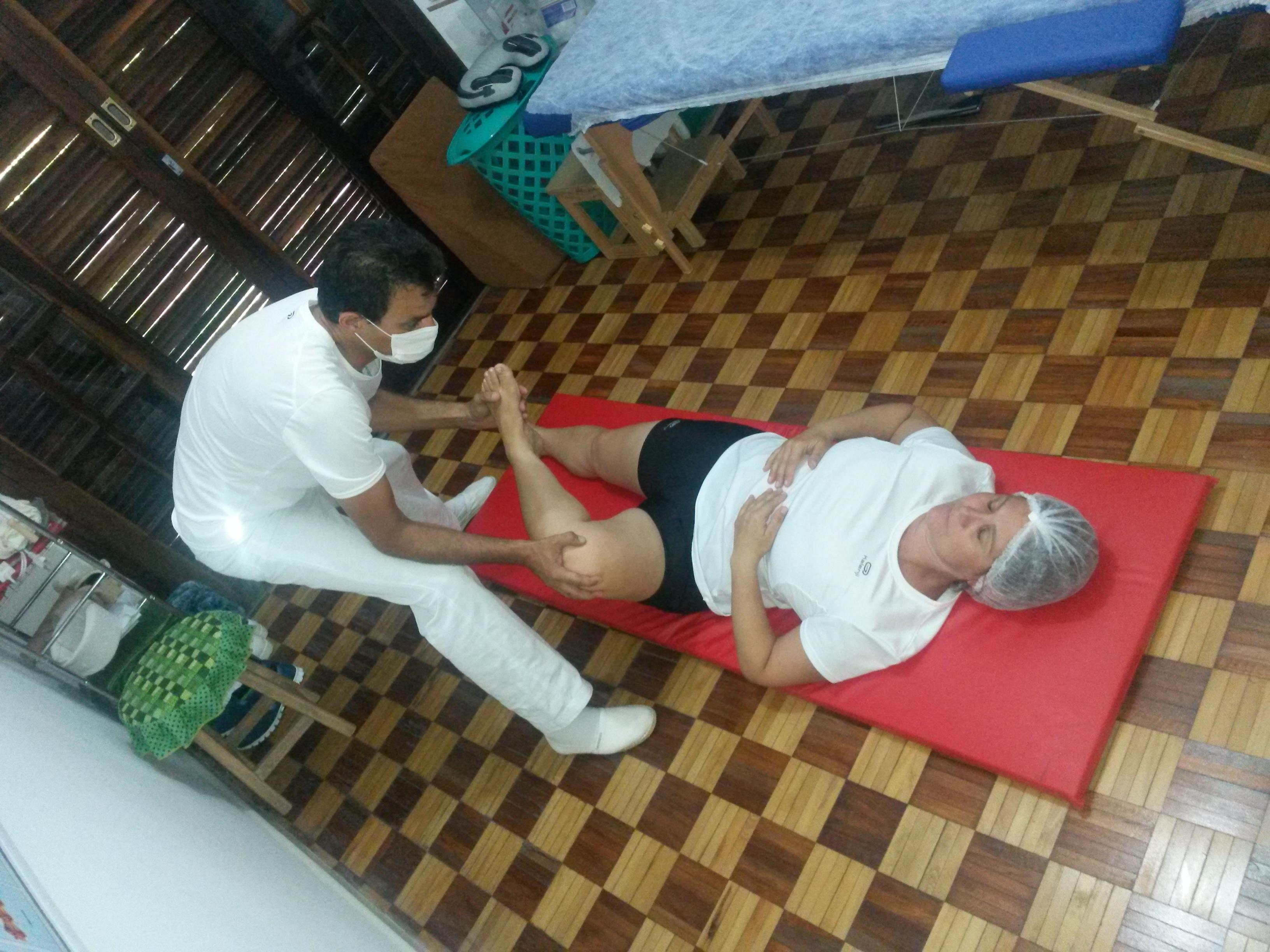 Alongamento articulações pernas