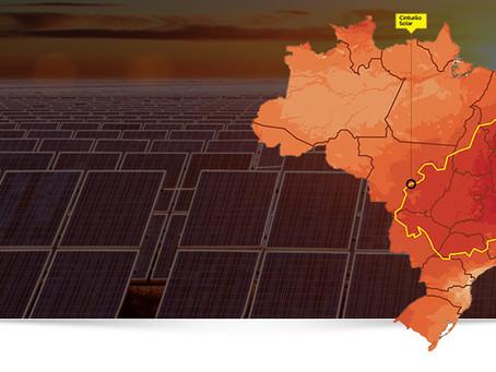 Irradiação solar no Brasil