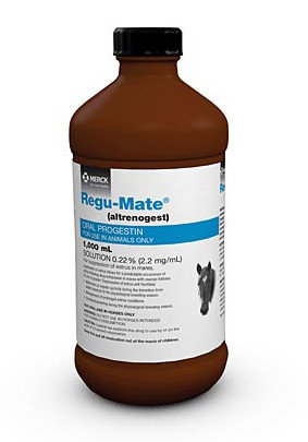 Regu-Mate 0.22% Solution (altrenogest), 1 Liter bottle
