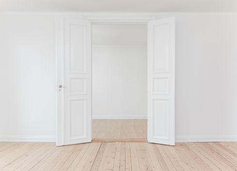 Home Interior Open Door
