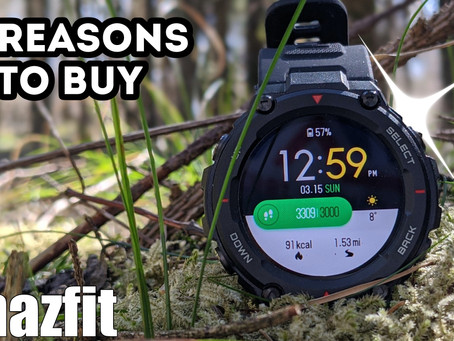 Amazfit T Rex - 6 Reasons To Buy!  (NOT the price)