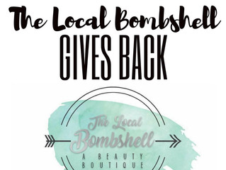 The Bombshell Gives Back