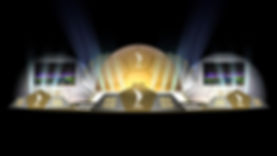 QFA awards ceremony stage set design