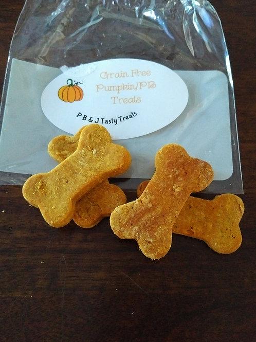 Grain Free Pumpkin/PB Treats