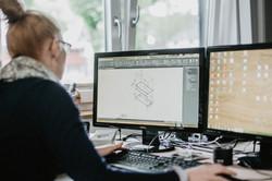 Zeichnungen mit modernster Technik