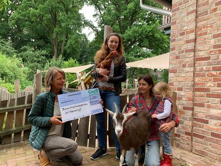 Gerd Godt-Grell Stiftung fördert vielseitigen Kinder-Bauernhof mit tiergestützter Pädagogik