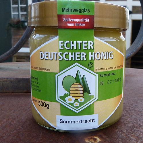 Sommertracht Honig