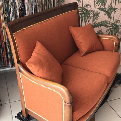 Canapé de style Louis Philippe