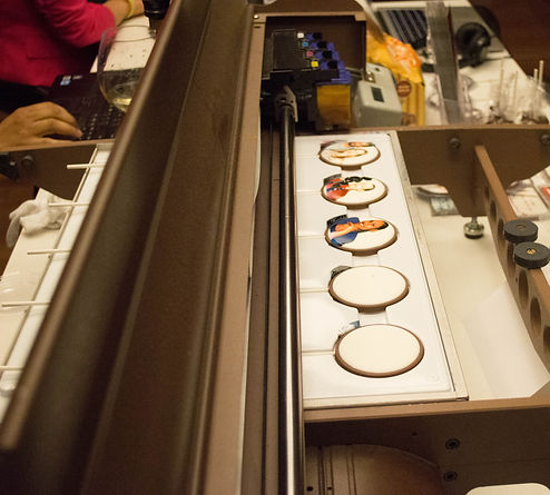 Chocolate Printer in use by Long Island, NY based chocolatier The Chocolate Art Box