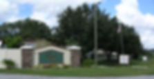 the entrance to the community