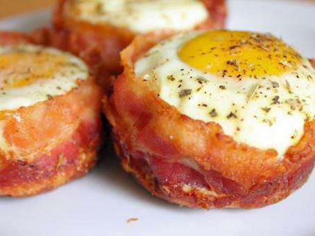 TOP5 vacsirecept, ha diétázol!  #3 - Baconos-tojásos isteni muffin - a legkülönlegesebb!