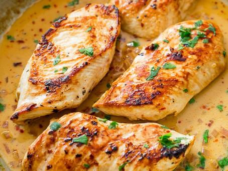 TOP5 vacsirecept, ha diétázol!  #1 - Korianderes csirkemell