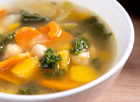 TOP5 vacsirecept, ha diétázol!  #5 - Zöldségleves (nagyon…) gazdagon :) - tényleg a leggazdagabb!