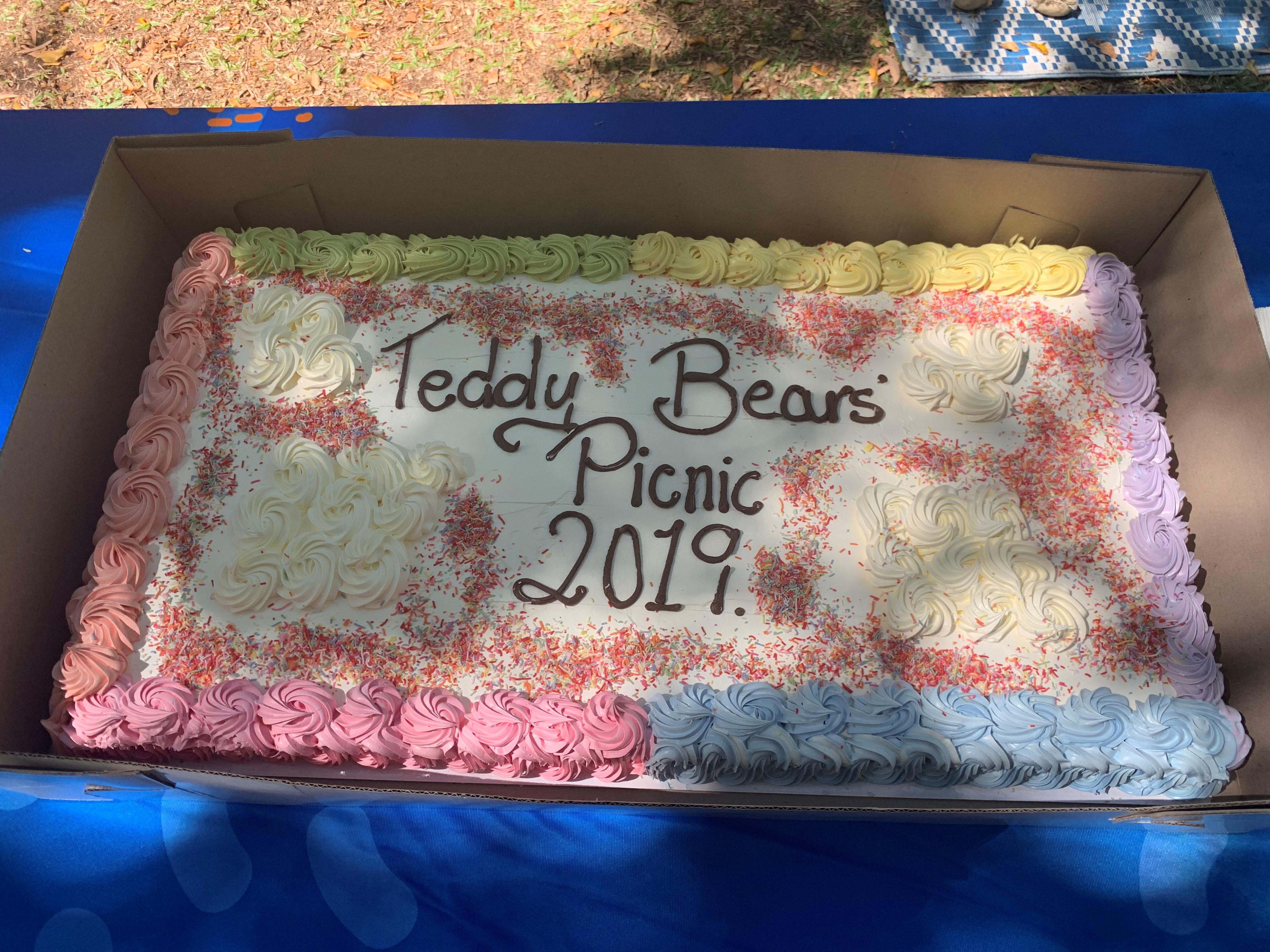 Teddy Bear Picnic Cake