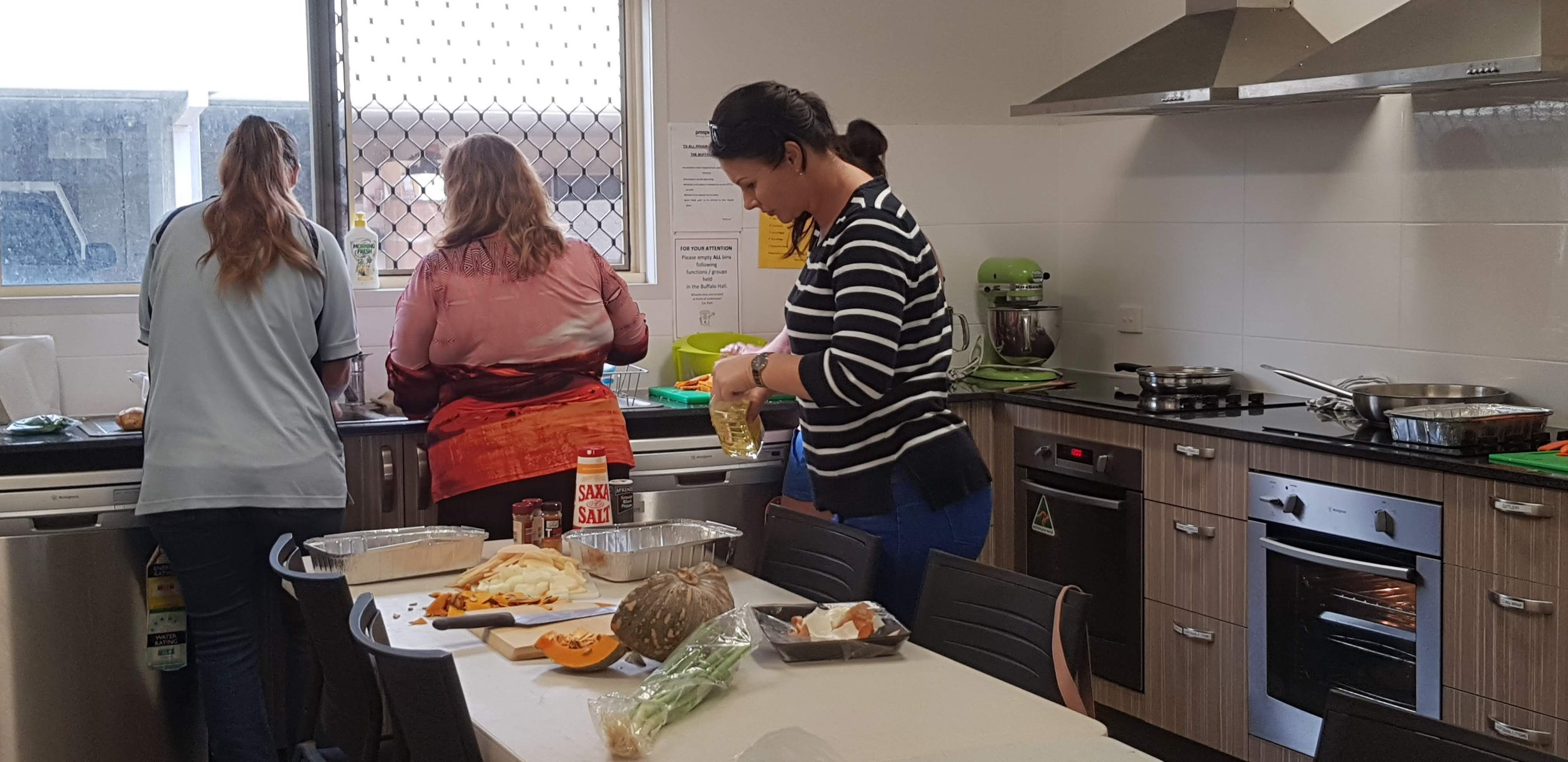 Family Support offering cooking classes